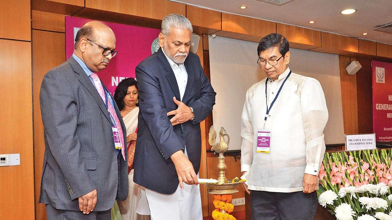 ভারতে অনুষ্ঠিত NEDAC এর সভা