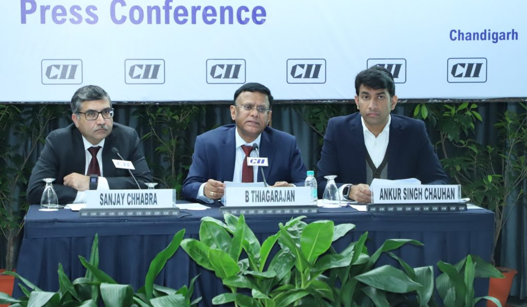 CII conference, Chandigarh