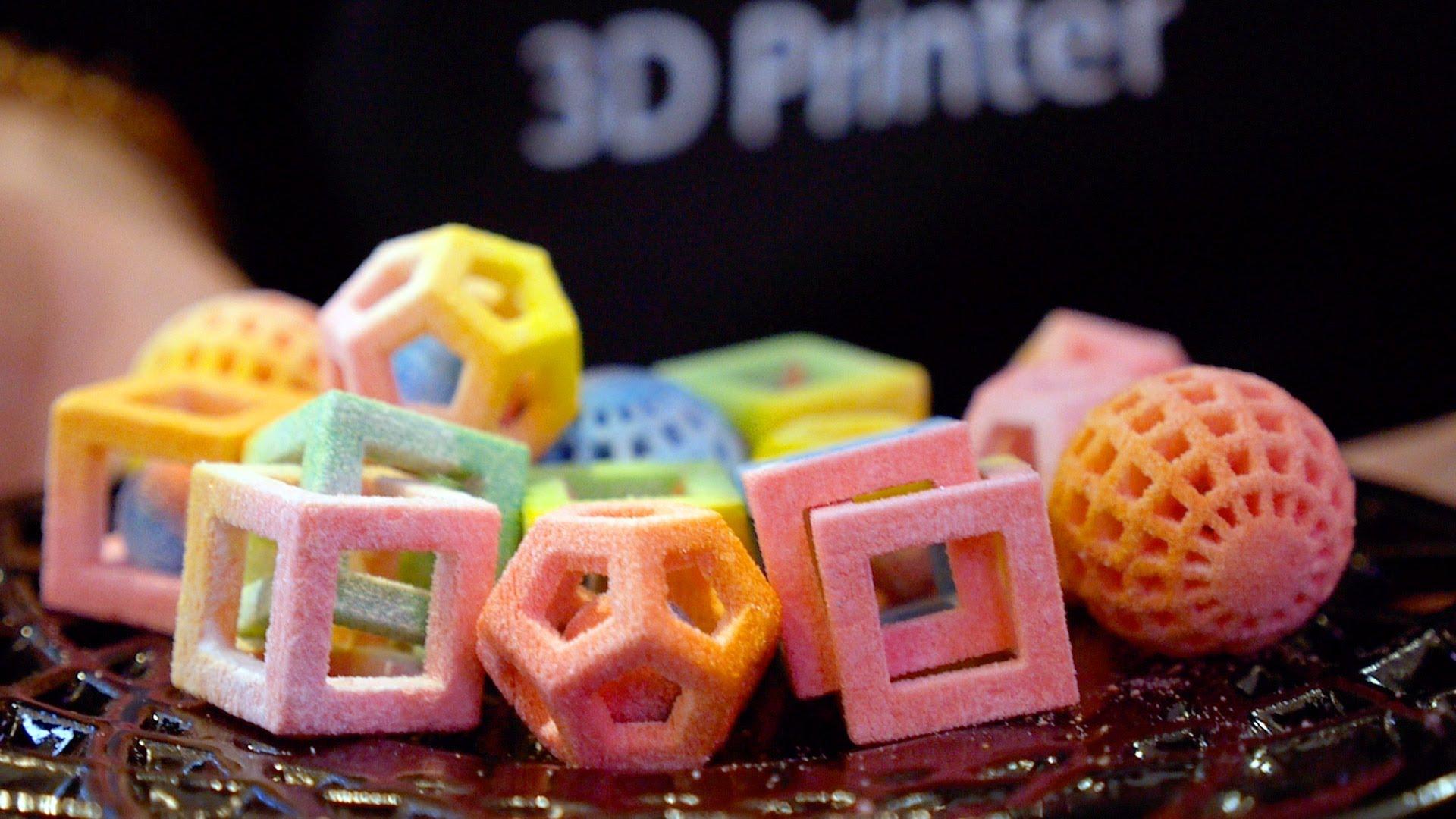 3D প্রিন্টেড স্ন্যাক্স
